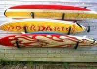 DoorDarius kaart surfboard